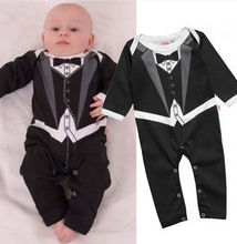 2014 Hot Sale Baby Boy Romper New Born Organic Baby Clothes