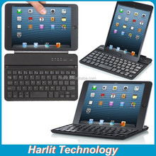 2015 New Upgraded Mini Bluetooth Keyboard With Magnetic Clip For iPad mini Wireless Bluetooth Keyboard For iPad Mini 3