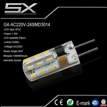 high power g4/ g6.35 led bulb new style factory sale fireproof 4w 220v new design waterpoof 12v 2w 220v 4w with low price