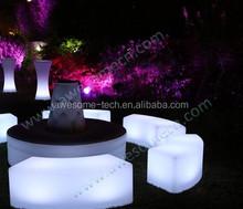 fashion LED garden bench / outdoor bench