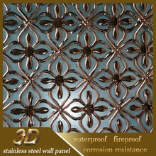 Wholesale 2015 Luxury 3d Stainless Steel Metal Modern Home Decor