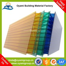 100% bayer material fadeless pc sheets suppliers for greenhouse skylight