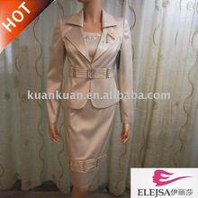 dama de vestido formal l1021 trajes para la oficina