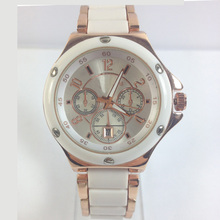 2015 China latest design automatic currren vogue lady watches