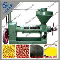 CHUANGDE Best price peanut oil extractor machine/peanut oil extractor