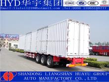 3 axle box semi trailer and van semi trailer