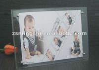 acrylic photo frame&plastic picture album