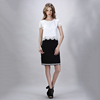 2015 Top quality White Lace Tops