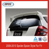 ABS Roof Spoiler Rear Spoiler For Honda Jazz/Fit Spoon Type