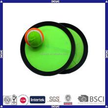 Fabricación de China de la playa de encargo de plástico velcro catch juego de pelota juego