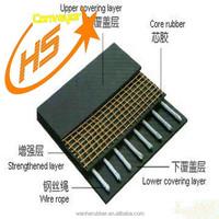 High tensile strength steel cord rubber conveyor belt/High quality ST1250 conveyor belt with good price