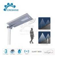 Integrated Lithium Battery 12V DC LED Solar Street Lights
