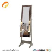 New design Lady dressing mirroe jewelry armoire wholesale