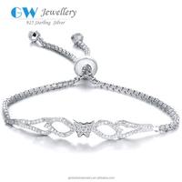 Fashion 925 Sterling Silver Wholesale European Style Charm Bracelet FB002