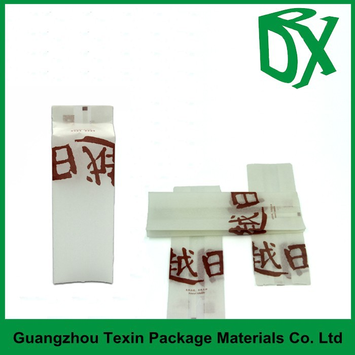 Argent soie blanc rectangle fen tre doypack pouch de for Fenetre rectangle
