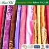vast design embossed solid color velvet fabric for lady's dress