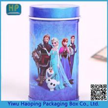 2015 Frozen Elsa box,Round cracker box, cookie tin box