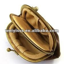 2012 Personalized PU leather coin bag for your small change