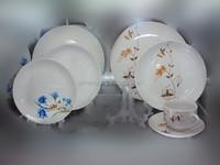 Ceramic porcelain dinnerware set, arcopal design dinner set