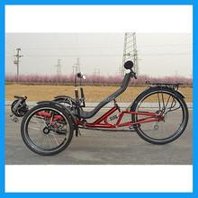 three wheel recumbent seat pedal bikes