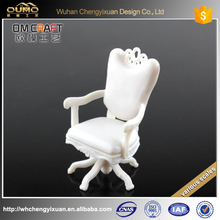 new scale 1:20 1:25 office rotary chair model for sand table building material