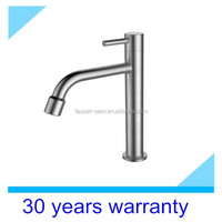 (CT-08-004)high quality Stainless steel cold water kitchen faucet
