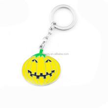 customized enamel metal halloween keychain