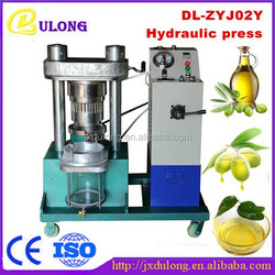 CE approved high oil extraction rate home olive oil press machine for sale