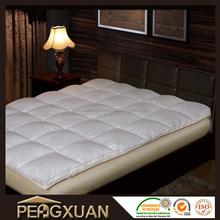 Eco-friendly super soft feather mattress pad
