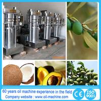Health food cold press oil hand crank oil press machine
