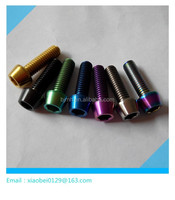 Bicycle,Bike,Mototrcycle,Car Hex Head Titanium Bolt For Racing Industries