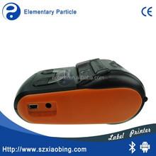 MP350 Mini portable mobile bluetooth thermal label printer / Thermal Barcode Label Printer