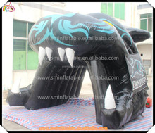 sticthing inflatable animal tiger tent , inflatable air tent for sale