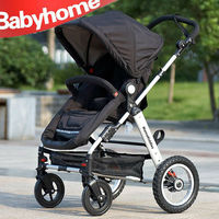 EN1888 2014 new design adjustable handle japanese baby strollers