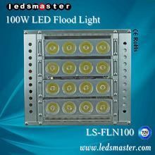CE ETL UL ROHS TUV approved 100w flood light housing 100W garden lighting pole light 100W garden light ball