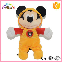 2015 Factory New Design Custom Plush Toy Mickey and Minne with Clothes