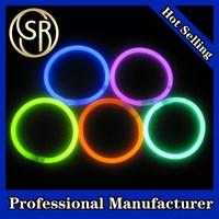 Fashionable multi-color glow stick bracelet for party