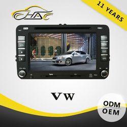 chinese 2 din car for volkswagen passat b5 car radio tv dvd system