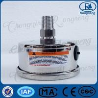 YTN-63H Radial Direction Quakeproof Pressure Gauge Manometer