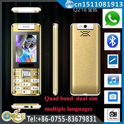 Q218 china mobile phone distributors 2.4 inch dual sim no brand cell phone with whatsapp torch rotate camera nexus GSM phone