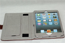 Leather cover leather case smart cover for iPad