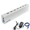 Intelligent usb port extender usb 3.0 fast usb charger station