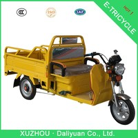chinese three wheel motorcycle rickshaw tricycle for cargo