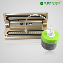 Automatic vacuum food sealer, apply to vacuum bag/rolls,can and canister