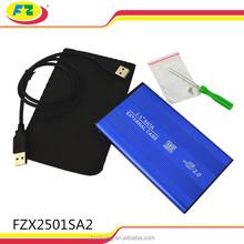 2.5 Inch Aluminum USB 2.0 to SATA Serial ATA Hard Drive Disk External HDD Box Enclosure Case Caddy for Sansung / FZX2501SA2