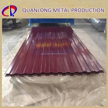 AZ180 SGLCC Metal Prepainted Corrugated Color Steel Roof Tile