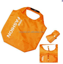 Top quality polyester easy carry folding shopping bag