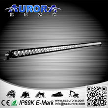 Low power consumption AURORA 50inch single row led lights for car accessories china wholesale