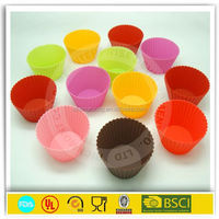 Square Silicone Cupcake Liner/Muffin Cake Mold/Muffin Cups