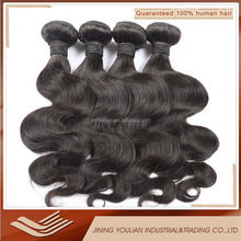 100% unprocessed raw indian virgin hair remy wet and wavy human hair extensions body wave natural black hair